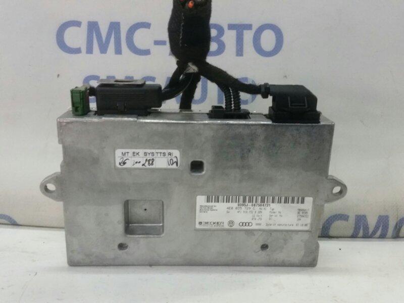 Блок управления mmi Audi A6 C6 2.8