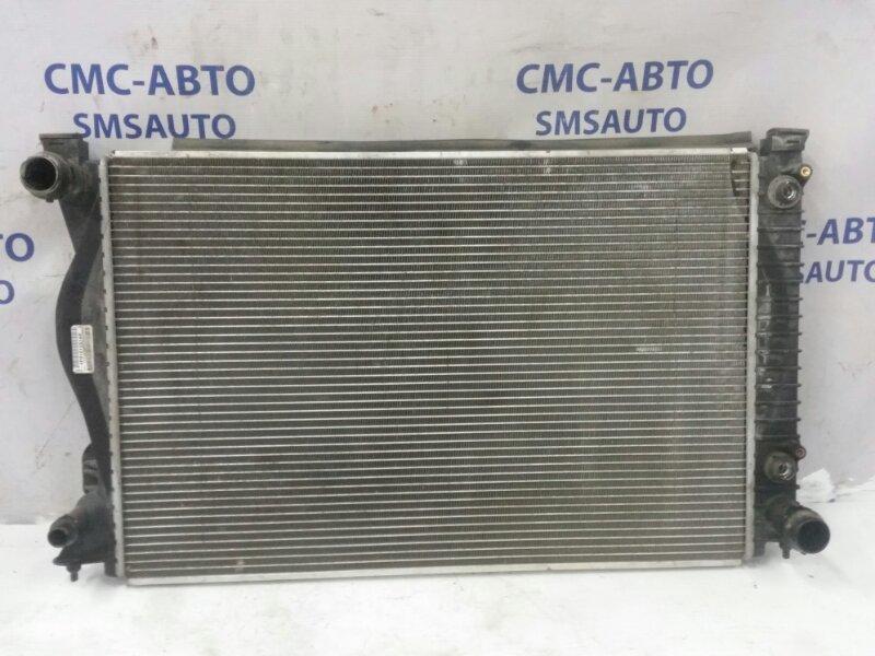Радиатор охлаждения двс Audi A6 C6 2.8