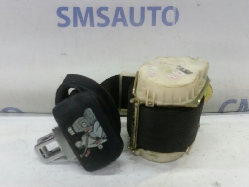 Ремень безопасности Volkswagen Touran 1.4TFSI BMY 2005 задний правый