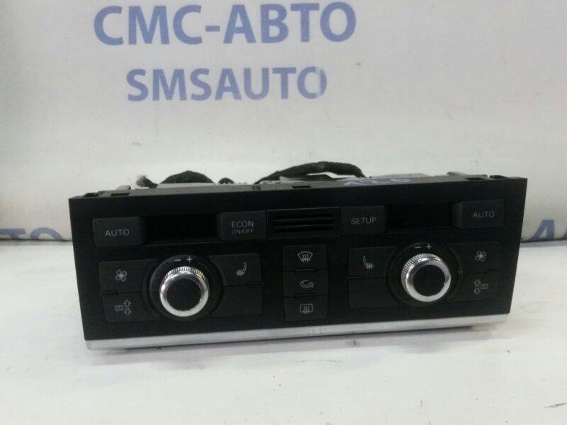Блок управления климатом Audi A6 C6 2.8