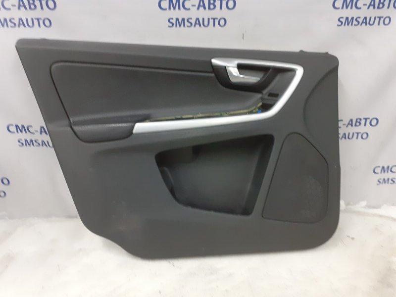 Обшивка двери Volvo Xc60 ХС60 2.4D передняя левая