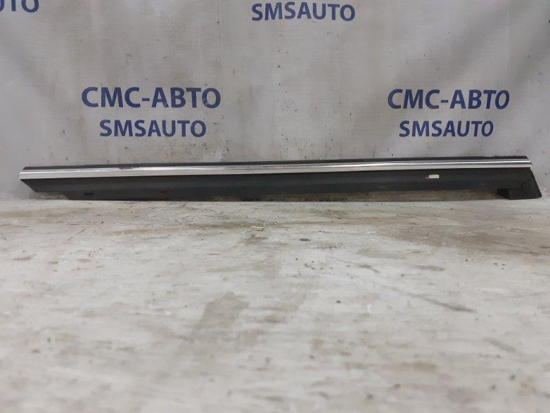 Молдинг стекла двери задний правый