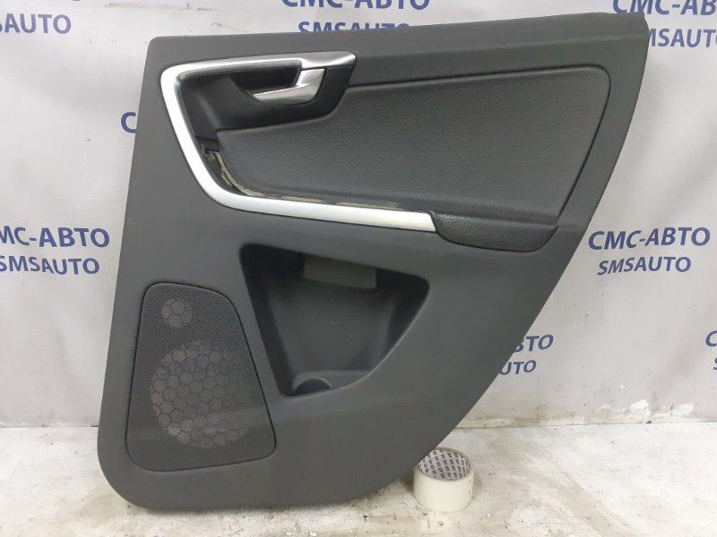 Обшивка двери Volvo Xc60 ХС60 3.0T задняя правая