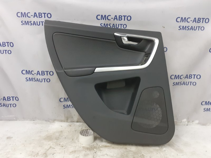 Обшивка двери Volvo Xc60 ХС60 3.0T задняя левая