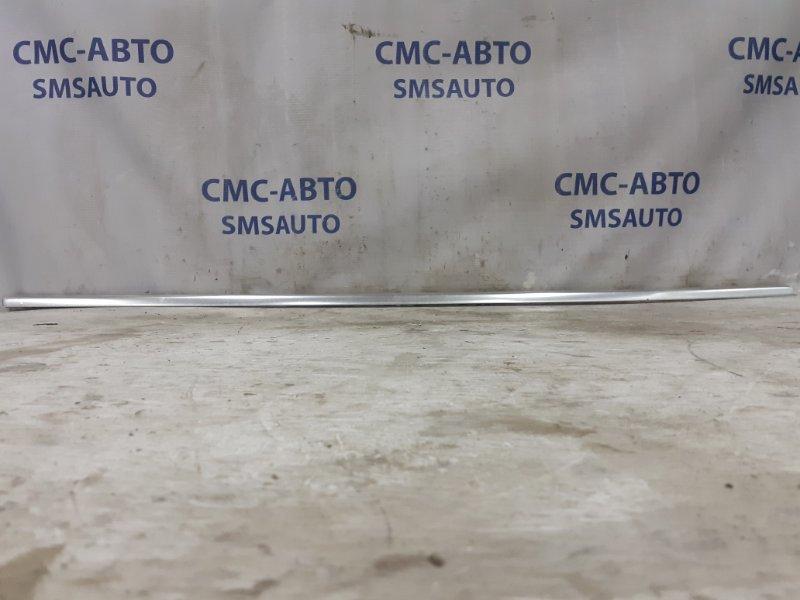 Молдинг стекла двери Volvo Xc60 ХС60 3.0T передний правый