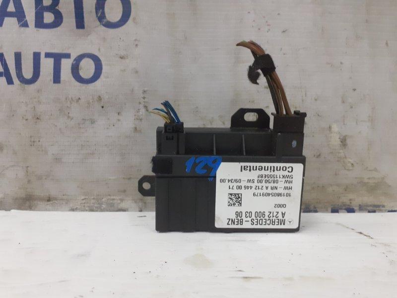 Блок управления бензонасосом Mercedes C-Klasse W204