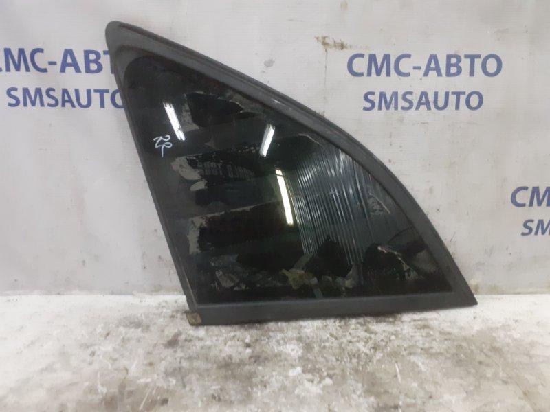 Форточка Audi Q5 задняя правая