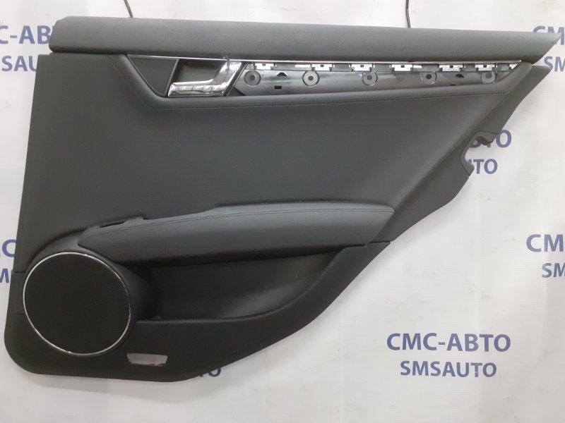 Обшивка двери Mercedes C-Klasse W204 задняя правая