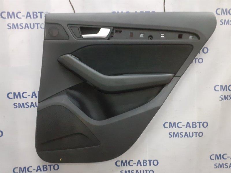 Обшивка двери Audi Q5 задняя правая