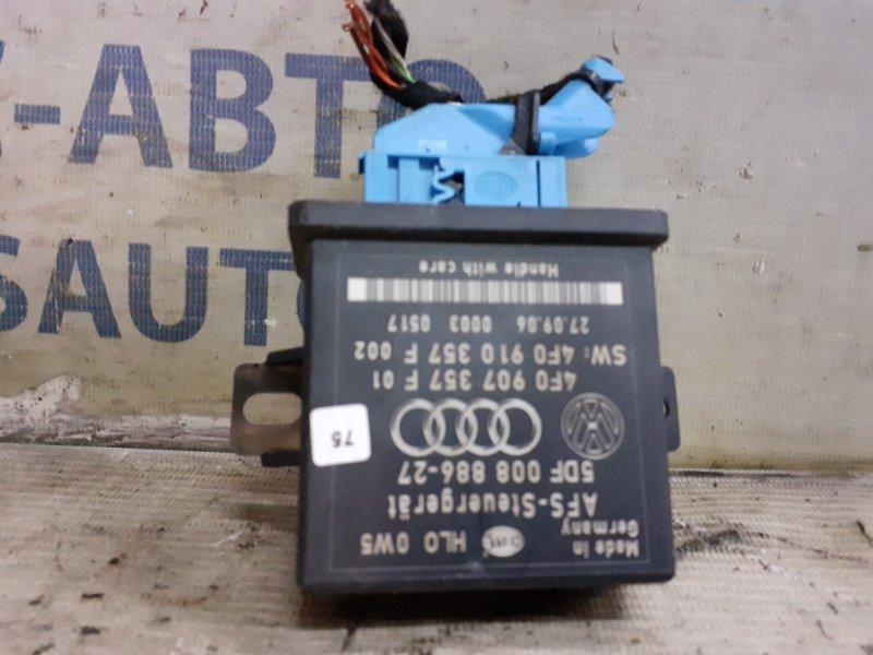 Блок управления Audi Allroad C6 3.2