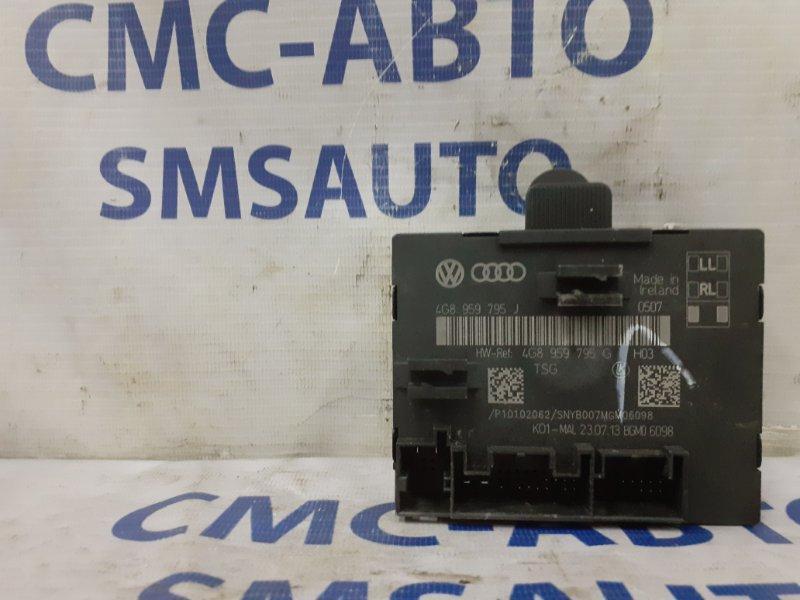 Блок управления двери Audi A6 C7 2.8 2011 задний левый