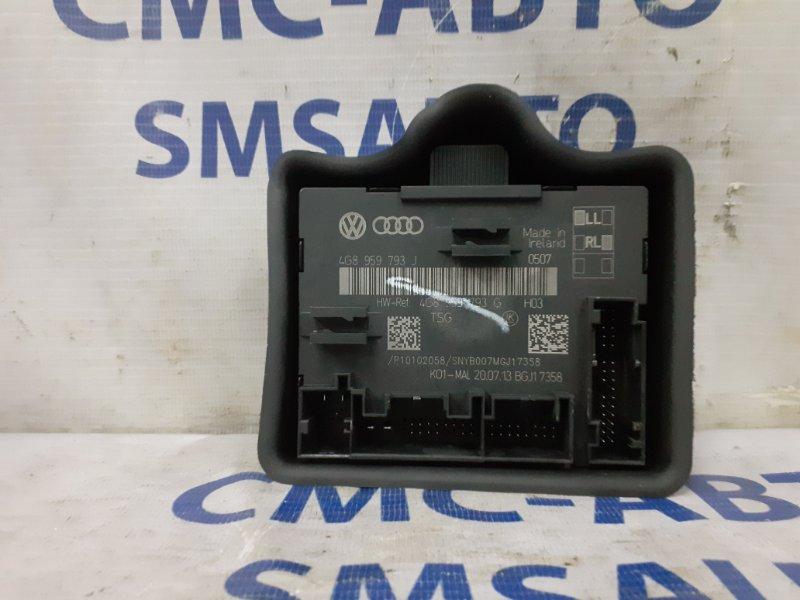 Блок управления стеклоподъемника Audi A6 C7 2.8 2011 передний правый