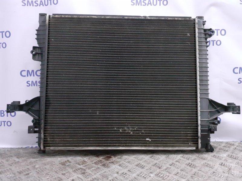 Радиатор охлаждения двс Volvo Xc90 ХС90 2.5T 2003 передний