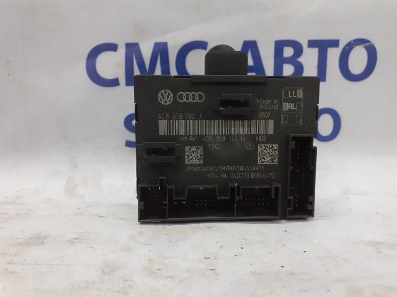 Блок управления двери Audi A6 C7 2.8 2011 передний правый
