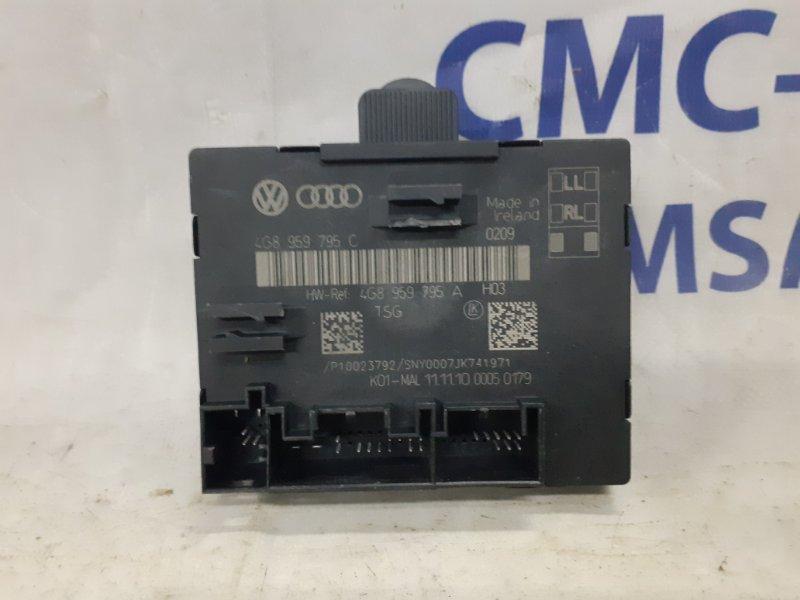 Блок управления двери Audi A7 3.0T задний