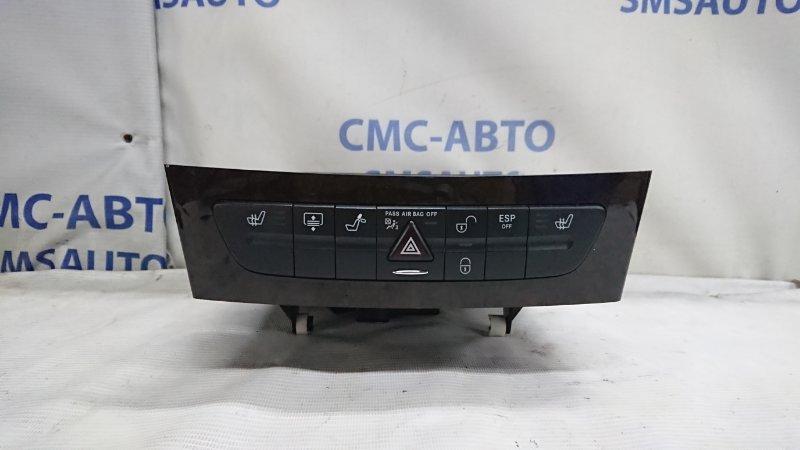 Блок кнопок передней панели Mercedes Cls-Class W219 5.0