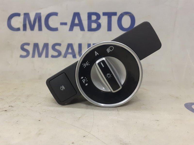 Блок управления светом Mercedes E-Class W212 3.5