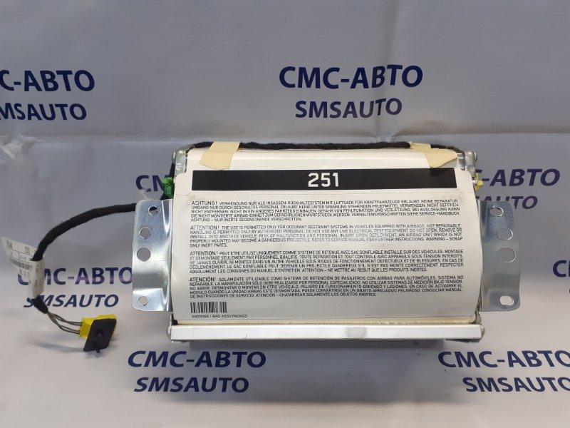 Подушка безопасности airbag Mercedes Ml W164 3.5 передняя правая