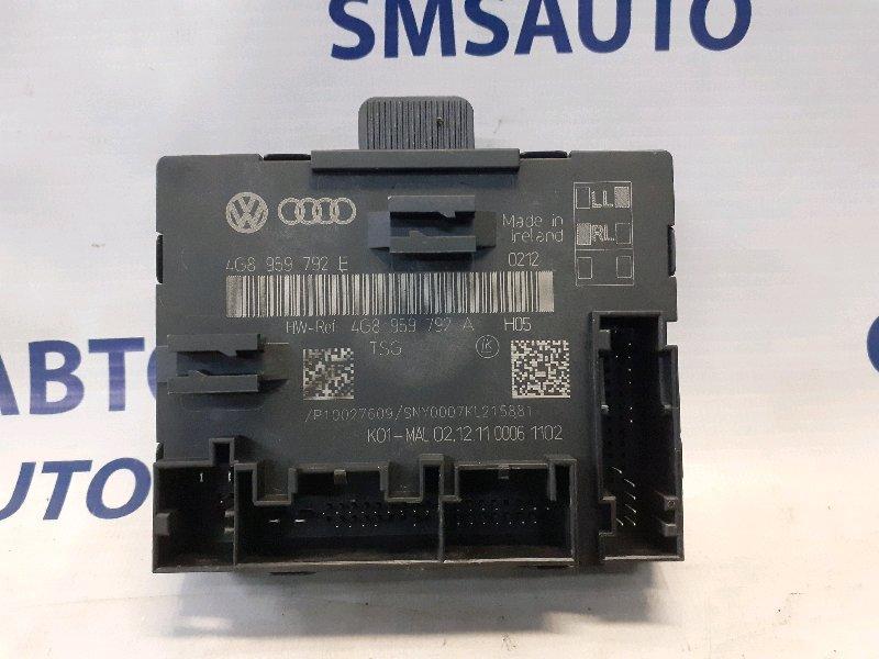 Блок управления двери Audi A6 C7 2.8 передний правый