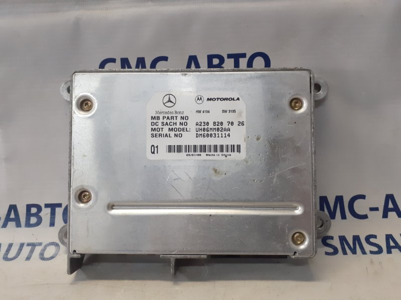 Блок управления телефоном Mercedes Gl X164 4.7
