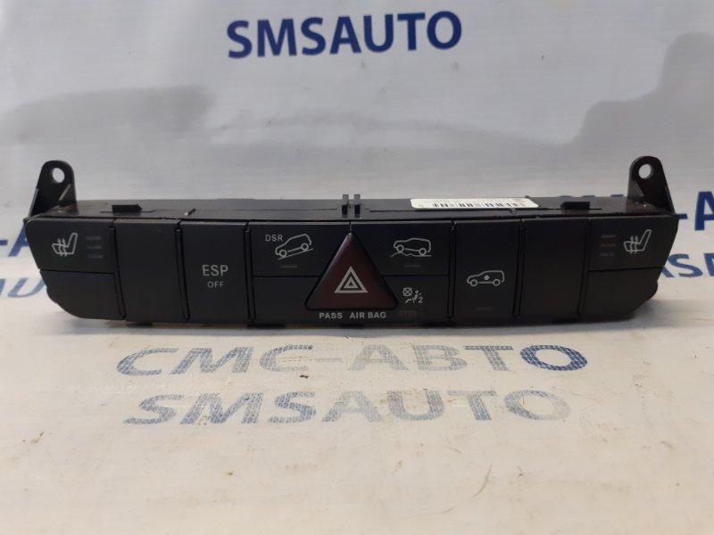 Блок кнопок передней панели Mercedes Gl X164 4.7