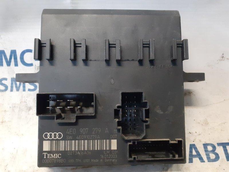 Блок комфорта Audi Q7