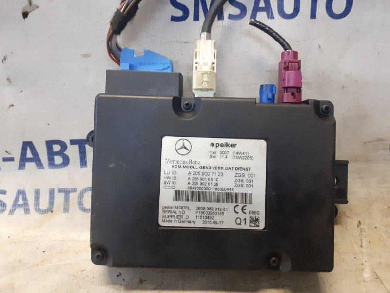 Блок управления телефоном Mercedes Glc X253 2015