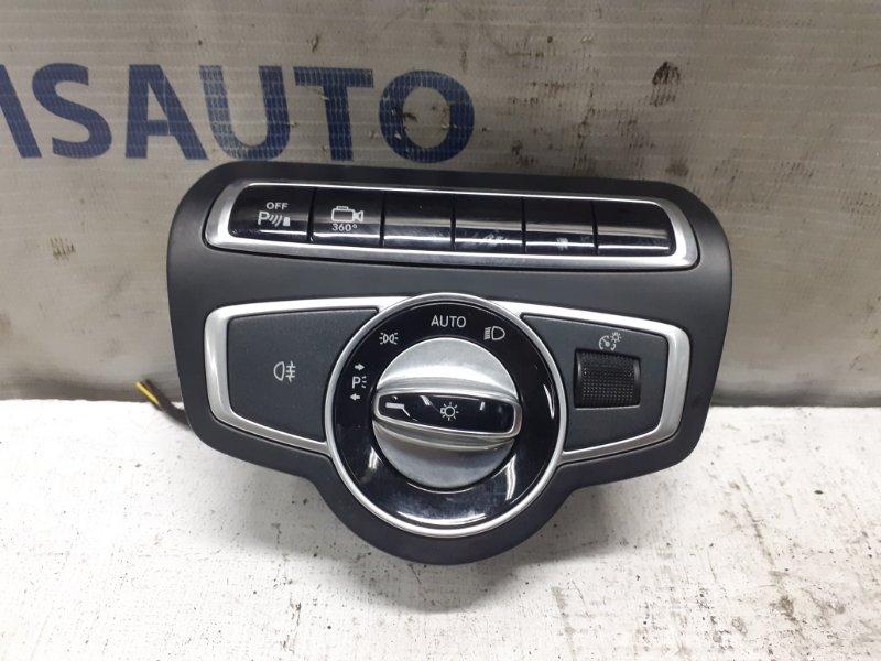 Блок управления светом Mercedes Glc X253 2015