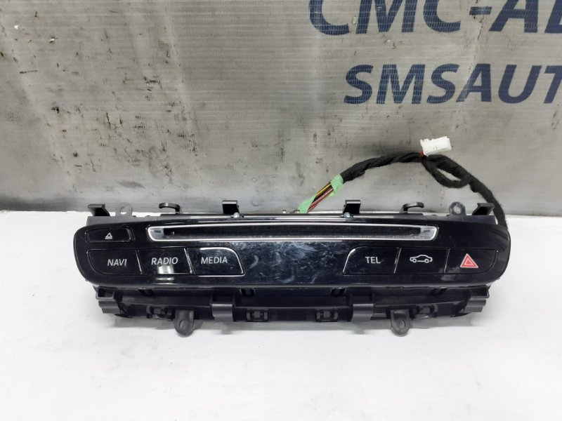 Блок кнопок передней панели Mercedes Glc X253 2015