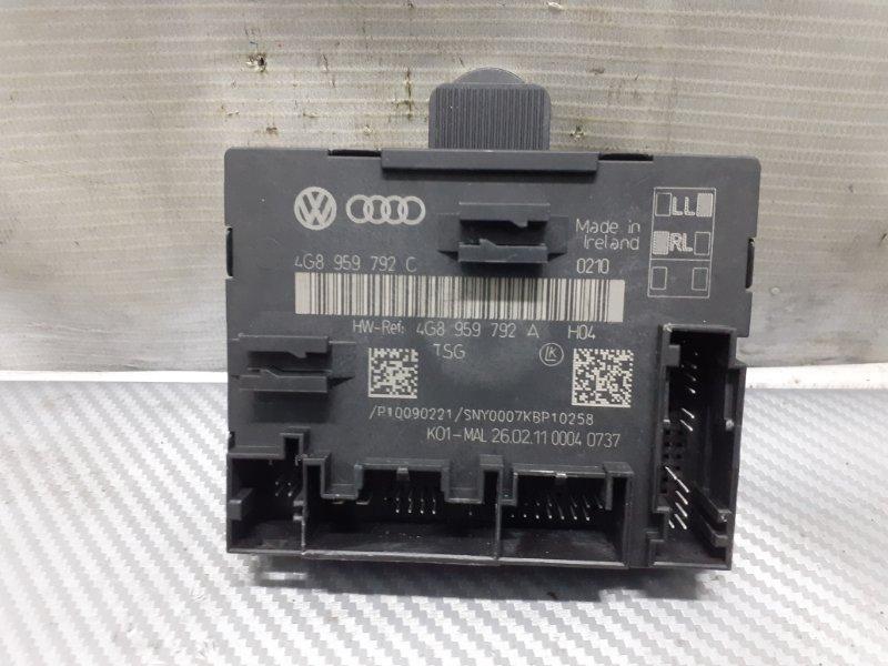 Блок управления двери Audi A7 4G 3.0T передний