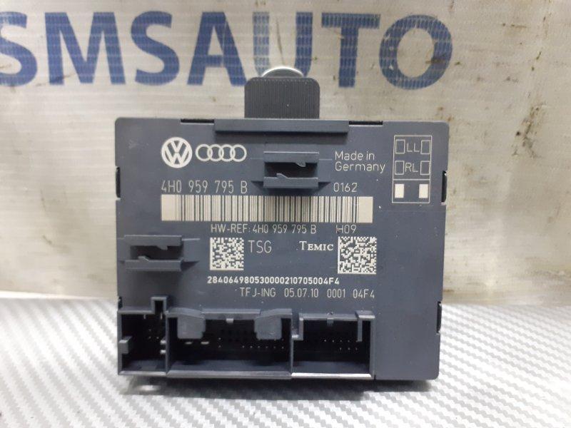 Блок управления двери Volkswagen Touareg NF 3.6 задний левый