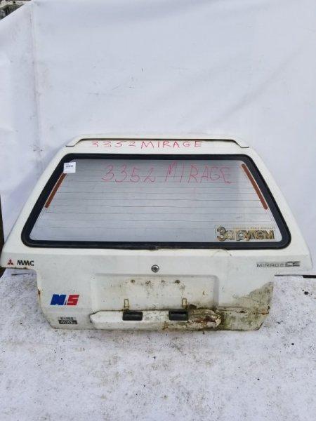 Дверь 5я Mitsubishi Lancer C11V G13B 1988 задняя