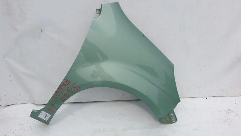 Крыло Toyota Passo KGC30 1KRFE 2010 переднее правое