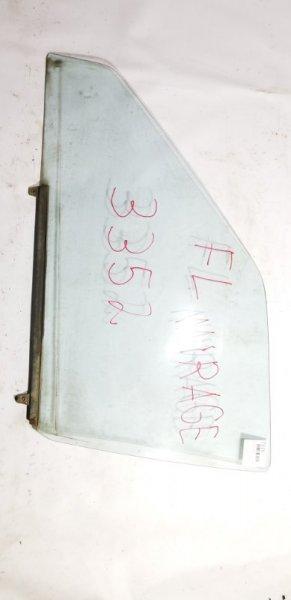 Стекло двери Mitsubishi Lancer C11V G13B 1988 переднее левое