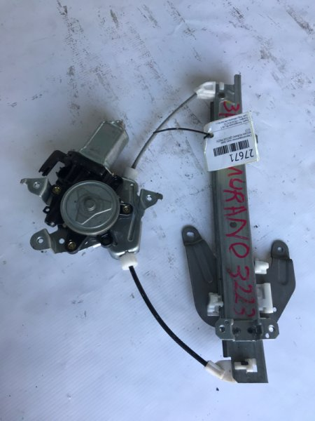 Стеклоподъемник Nissan Murano PNZ50 QR25DE задний правый