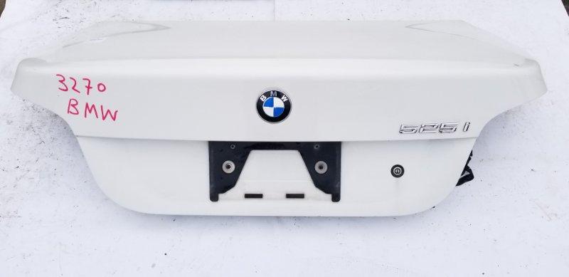 Крышка багажника Bmw 5-Series E60 M54B25 2004 задняя