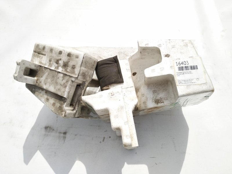 Пенопласт в бампер Nissan Cube Z12 HR15DE задний
