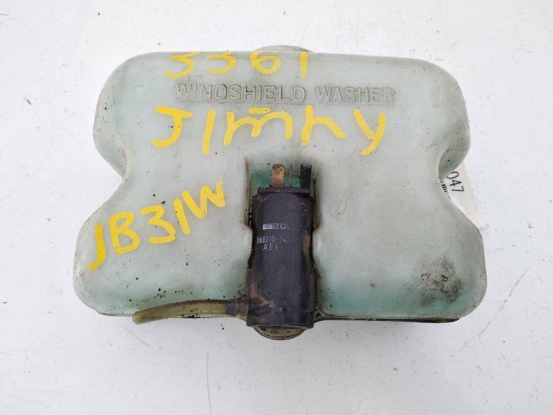 Бачок стеклоомывателя Suzuki Jimny JB31W G13B 12.1993 передний