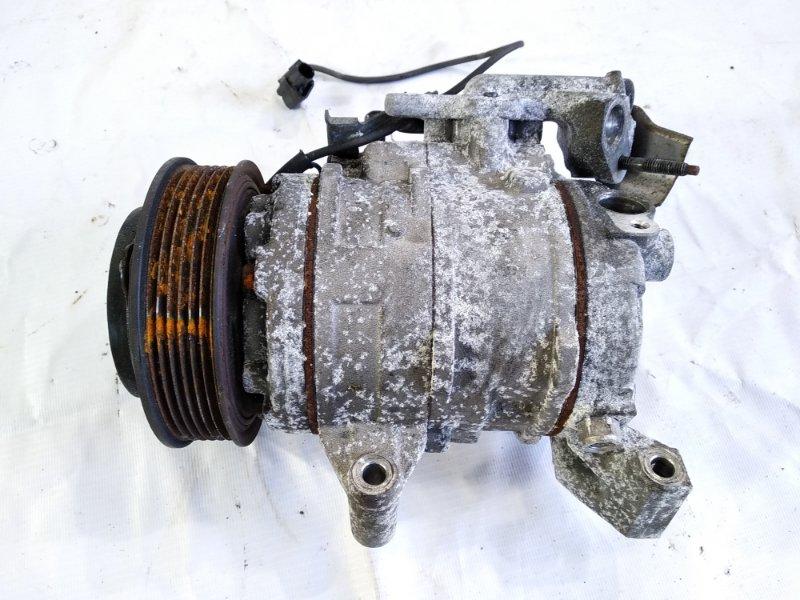 Компрессор кондиционера Honda Step Wagon RK5 R20A 2010 передний