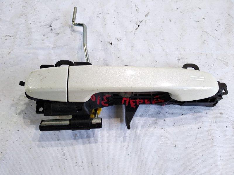 Ручка двери внешняя Toyota Noah ZWR80G 2ZRFXE передняя левая