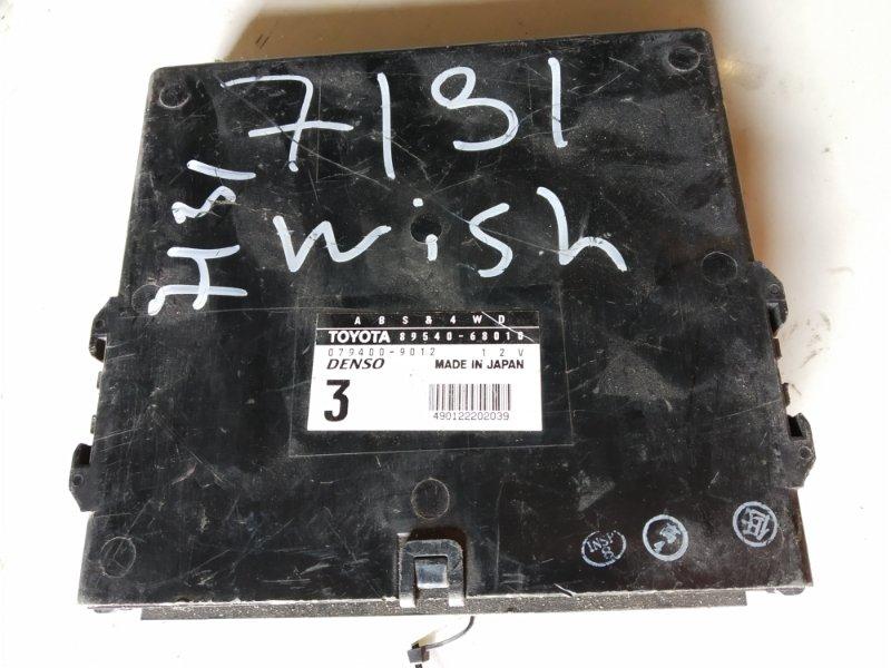 Блок управления abs электронный Toyota Wish ZNE14 1ZZFE 2003