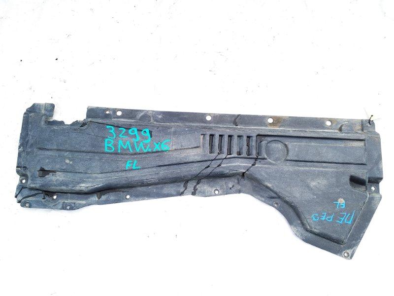 Защита Bmw X6 E71 M57N2 11.2008 левая