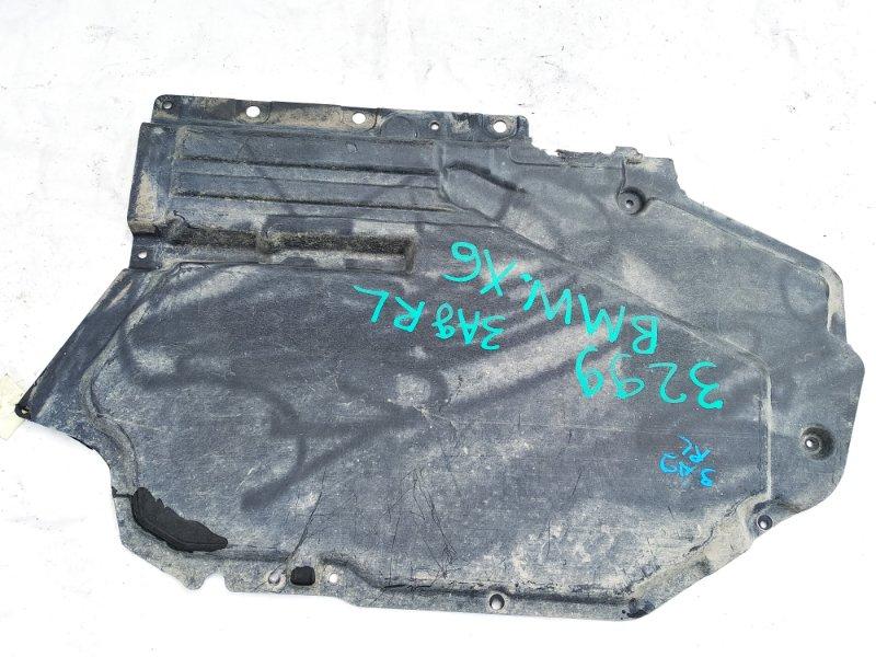 Защита Bmw X6 E71 M57N2 11.2008 задняя левая