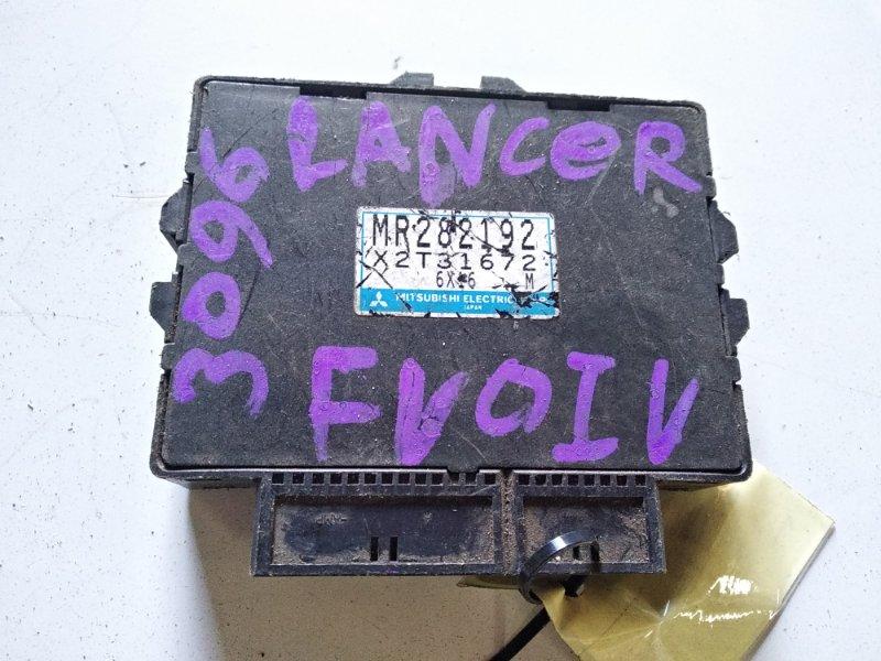 Блок управления efi Mitsubishi Lancer Evolution CK1A 4G63T 1996