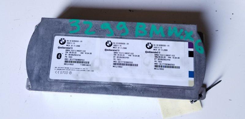 Блок управления телефоном Bmw X6 E71 M57N2 11.2008