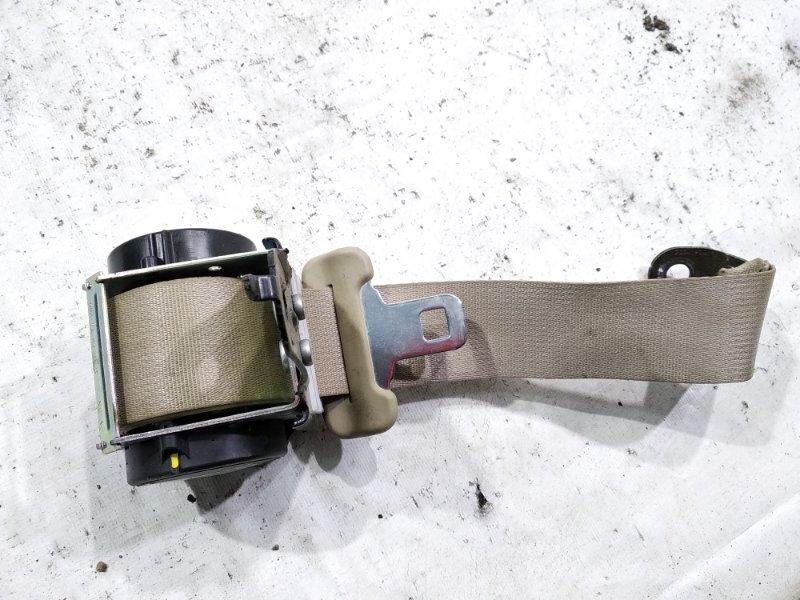 Ремень безопасности Nissan Bluebird Sylphy KG11 MR20DE 2006 задний правый