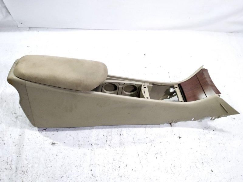 Бардачок между сиденьями Nissan Bluebird Sylphy KG11 MR20DE 2006 передний
