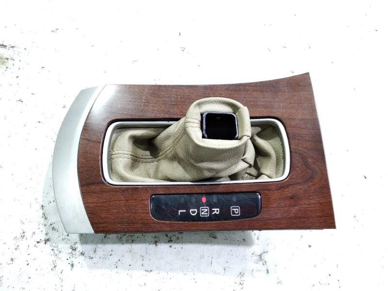 Консоль автомата Nissan Bluebird Sylphy KG11 MR20DE 2006