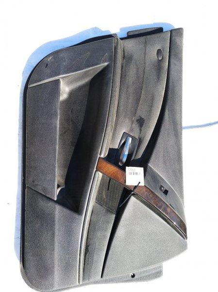 Обшивка дверей Bmw 5-Series E60 M54B25 2004 передняя левая нижняя