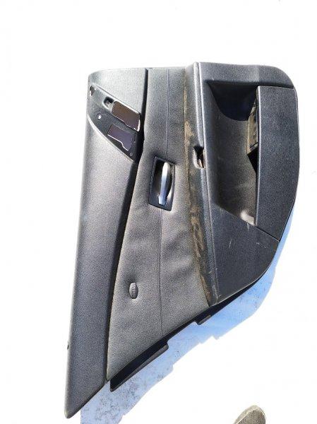 Обшивка дверей Bmw 5-Series E60 M54B25 2004 задняя левая нижняя